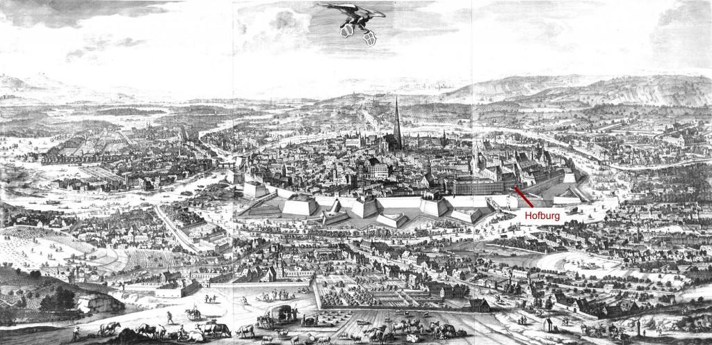 Wienansicht von Folbert van Alten-Allen 1683